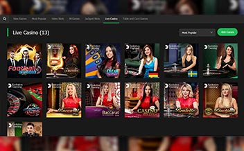 Screenshot 1 10Bet Casino