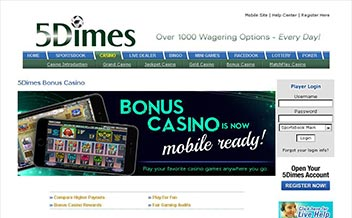 5dimes Casino Review Best Uk Slots And Bonus Offers