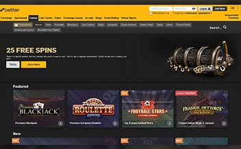 Screenshot 4 Betfair Casino