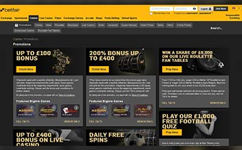 Screenshot 3 Betfair Casino
