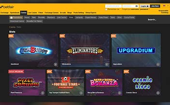 Screenshot 2 Betfair Casino
