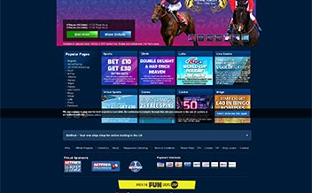 Screenshot 1 BetFred Casino