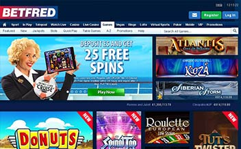 Screenshot 3 BetFred Casino