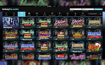 Screenshot 1 Betway Casino