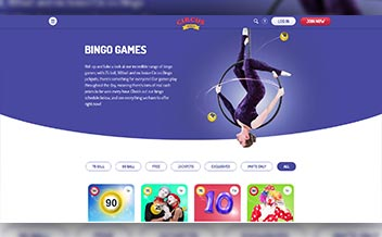 Screenshot 4 Circus Bingo Casino
