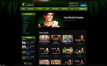 Screenshot 4 Cyber Club Casino
