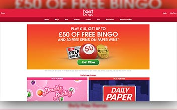 Screenshot 3 Heart Bingo Casino