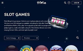 Screenshot 2 Pixie Bingo Casino