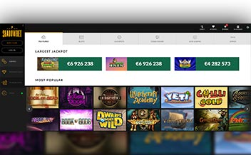 Screenshot 4 ShadowBet Casino