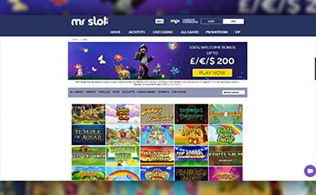 Screenshot 2 Mr Slot Casino