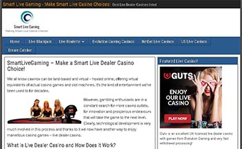 Screenshot 1 Smart Live Gaming Casino