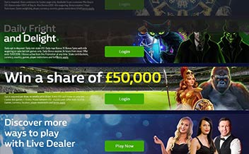 Screenshot 1 William Hill Casino
