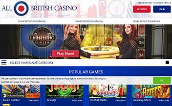 Screenshot 2 All British Casino