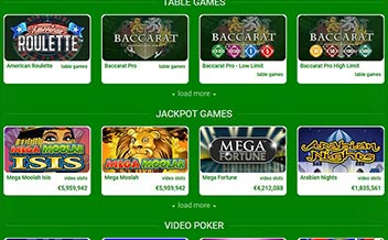 Screenshot 2 All Irish Casino
