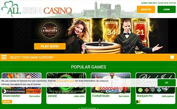 Screenshot 4 All Irish Casino