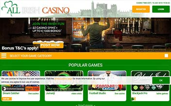 Screenshot 3 All Irish Casino