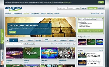 Screenshot 2 Bet-at-home Casino