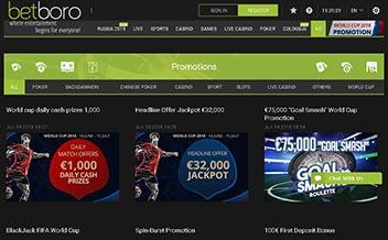Screenshot 1 BetBoro Casino