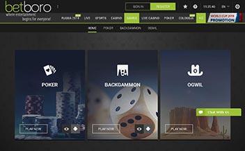 Screenshot 2 BetBoro Casino