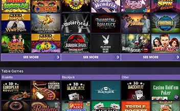 Screenshot 1 BetBright Casino