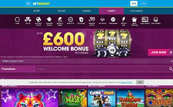 Screenshot 4 BetBright Casino