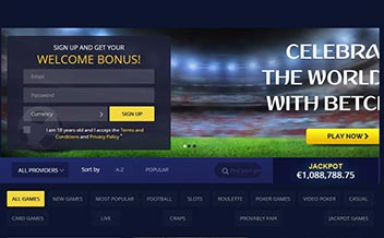 Screenshot 1 BetChain Casino