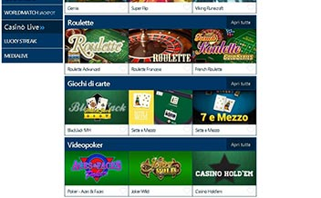 Screenshot 4 BetFlag Casino