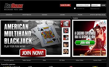 Screenshot 1 BetOnline Casino