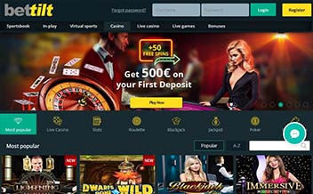 Screenshot 4 Bettilt Casino