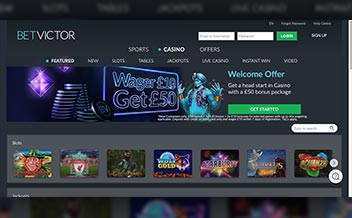Screenshot 4 Betvictor Casino
