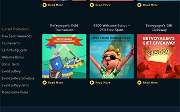 Screenshot 2 BetVoyager Casino