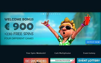 Screenshot 1 BetVoyager Casino