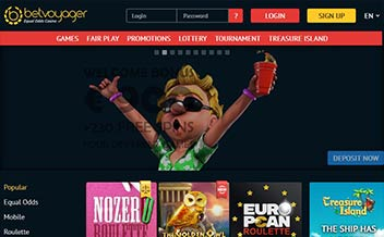Screenshot 3 BetVoyager Casino