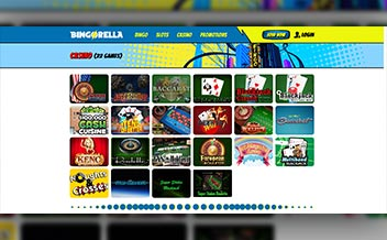 Screenshot 1 Bingorella Casino