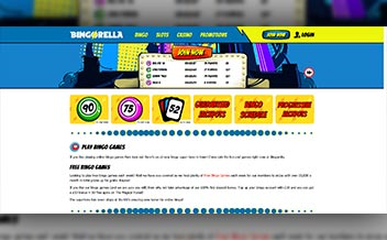 Screenshot 2 Bingorella Casino