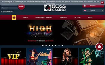 Screenshot 4 BOSS Casino