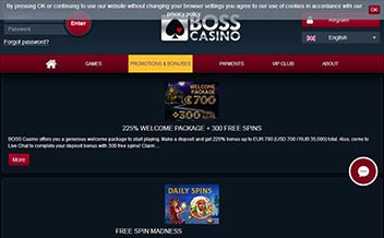 Screenshot 2 BOSS Casino