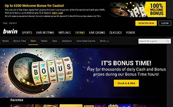 Screenshot 1 bwin Casino