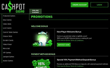 Screenshot 3 Cashpot Casino