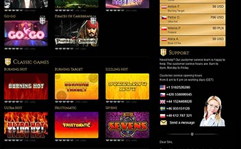 Screenshot 1 Mega Casino