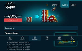 Screenshot 2 Casinoland