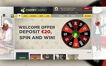 Screenshot 1 Cherry Casino