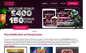 Screenshot 2 Chomp Casino