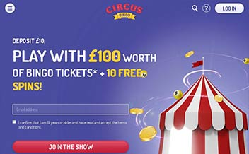 Screenshot 3 Circus Bingo Casino