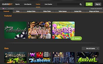 Screenshot 3 Cloudbet Casino