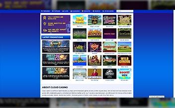 Screenshot 2 Cloud Casino