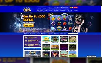 Screenshot 1 Cloud Casino