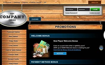 Screenshot 2 Company Casino
