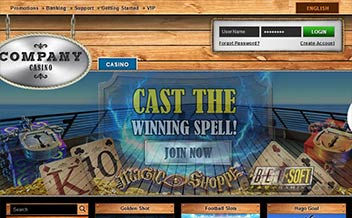 Screenshot 1 Company Casino