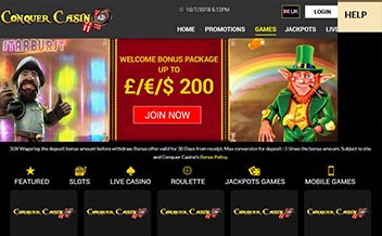 Screenshot 3 Conquer Casino